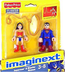 imaginext super friends superman wonder young