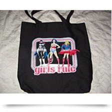 Discount Dc Batgirl Supergirl Girls Rule Book