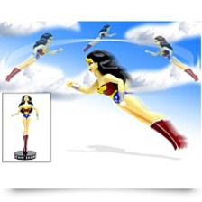 Specials Justice League Wonder Woman Flying Action