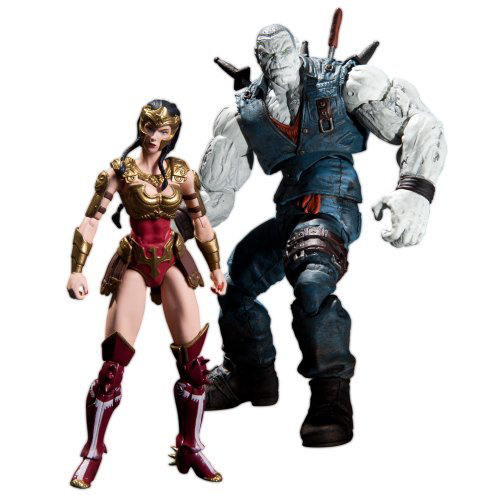 Injustice Wonder Woman Vs Solomon Grundy
