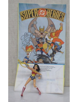 2001 3 Tall Kids Meal Toy Dc Heroes